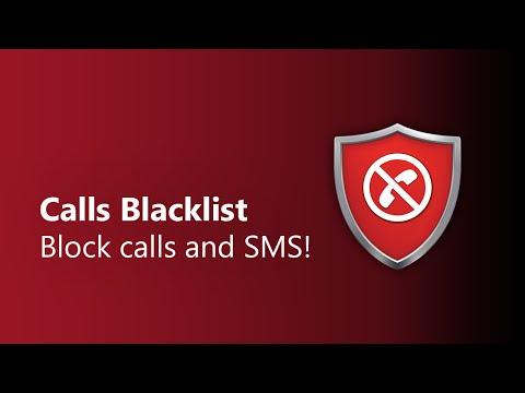 شرح وتحميل برنامج حظر المكالمات Calls Blacklist