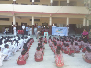 Mission Education Team of Dehradoon Placed a Drop Box at SGRR Public School Sahastradhara