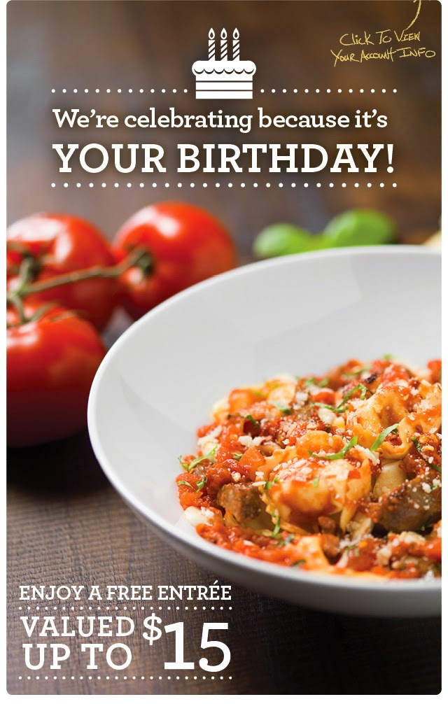 restaurants with birthday specials FREE IS MY LIFE: FREE ON YOUR BIRTHDAY: FREE $15 Entree at Bravo  restaurants with birthday specials