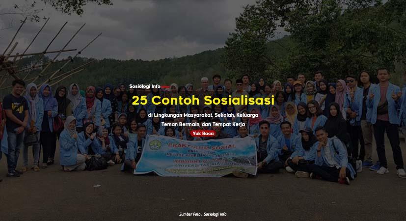 25 Contoh Sosialisasi di Lingkungan Masyarakat, Sekolah, Keluarga, Bermain, dan Tempat Kerja
