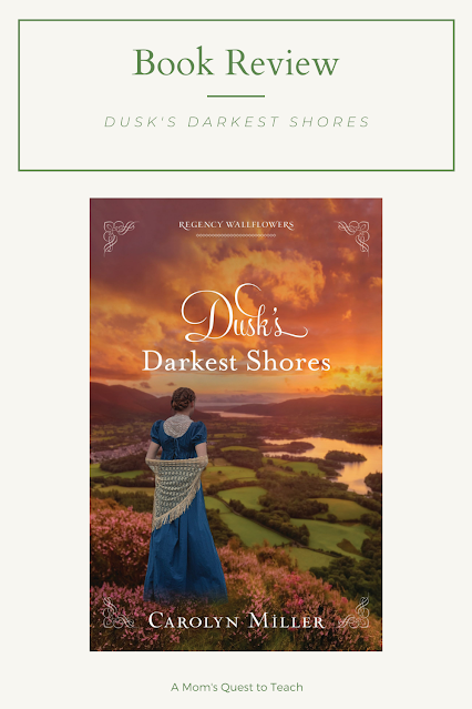 A Mom's Quest to Teach: Book Club: Book Review of Dusk's Darkest Shores; book cover of Dusk's Darkest Shores