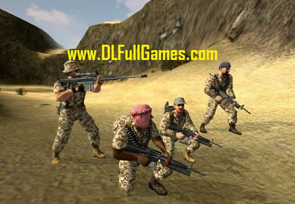 desert storm game setup download