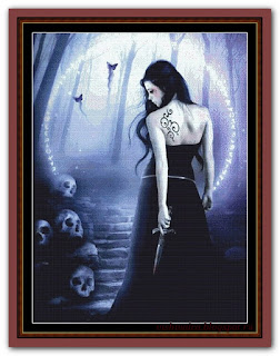 """Dark To Light"" Witchykitt Designs"