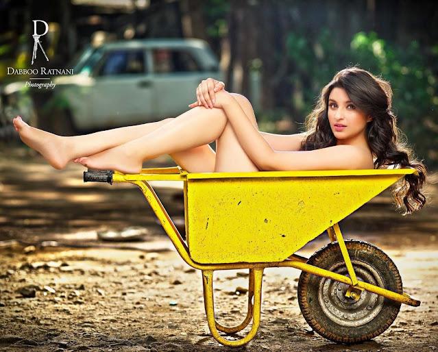 Parineeti Chopra goes topless with her latest photoshoot