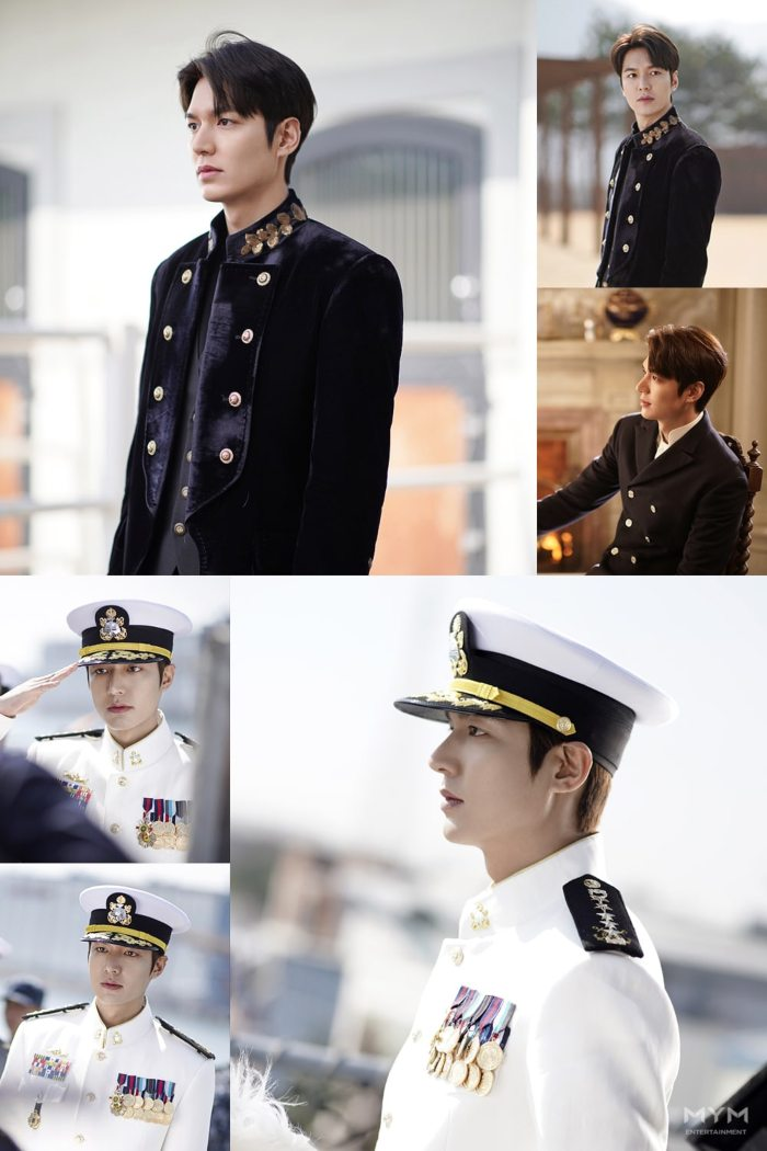 Lee Min in uniform