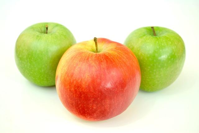 التفاحة قبل الوجبة