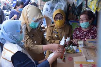 Wawako Palembang Lakukan Sidak ke Toko Obat