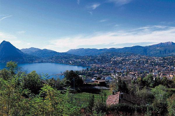 مدينة لوغانو السويسرية