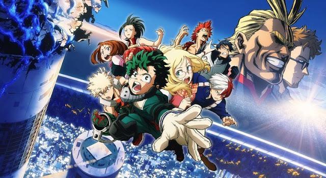 Download Boku no Hero Academia the Movie 1 Futari no Hero BD Subtitle Indonesia