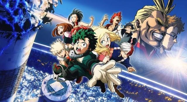 Boku no Hero Academia the Movie 1: Futari no Hero Subtitle Indonesia