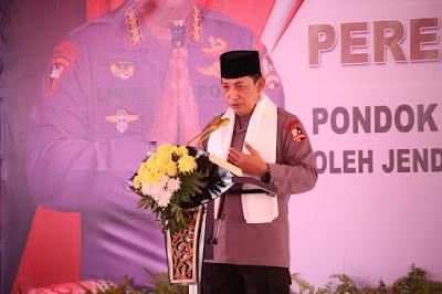 Ini pesan Kapolri saat meresmikan Ponpes Tajul Falah Banten