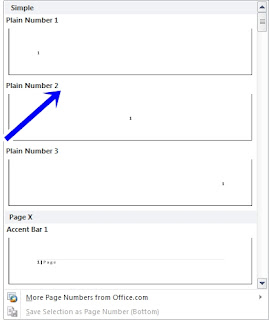 Cara Membuat Nomor Halaman Dengan Letak Yang Berbeda Pada MS. Word