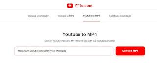 Convert YouTube ke mp4 Menggunakan YT1S - 2