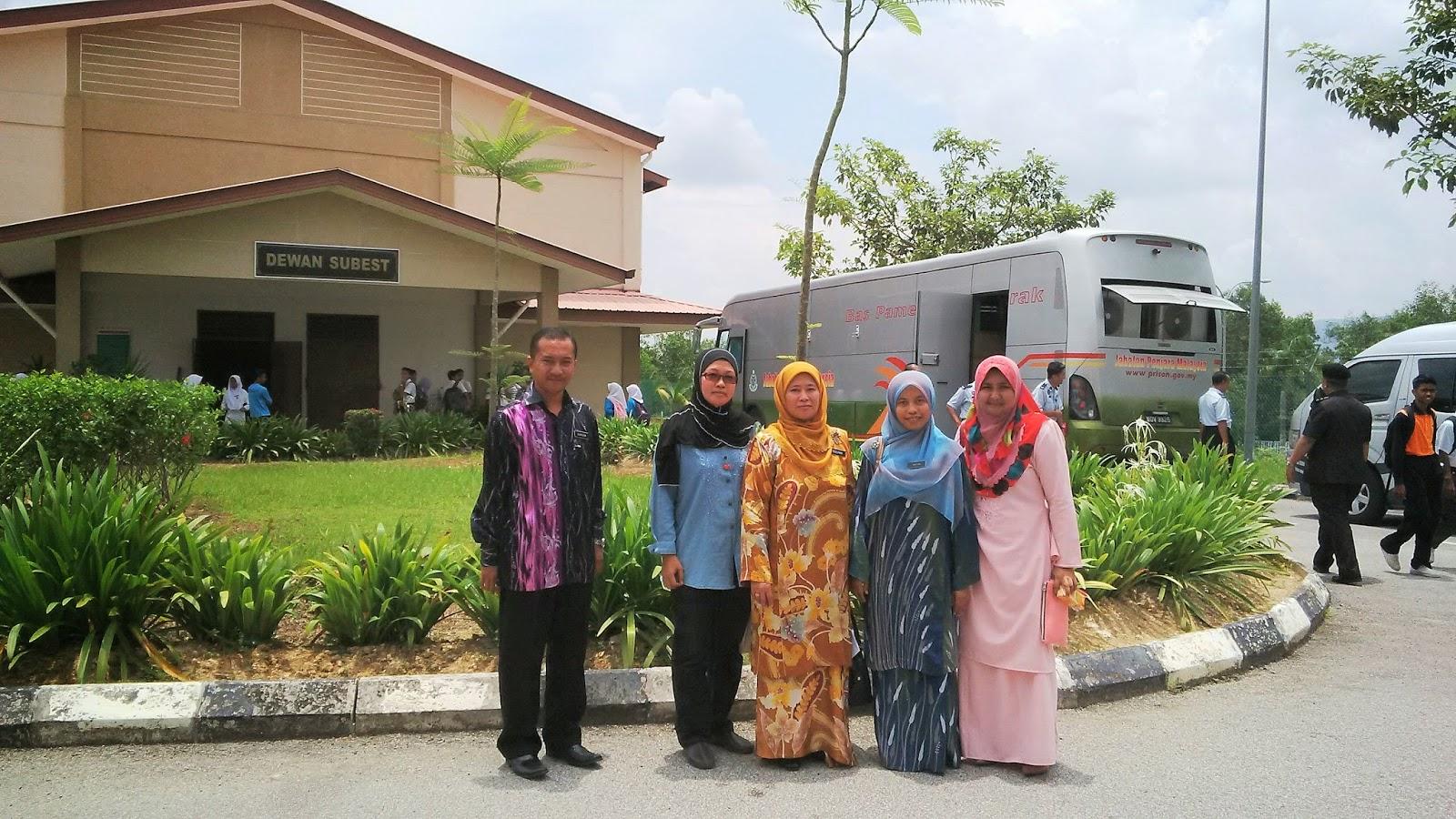 Pesanan Dari Penjara di SMK Subang Bestari, Shah Alam, Selangor - Parol dan Perkhidmatan Komuniti Negeri Selangor, Jabatan Penjara Malaysia