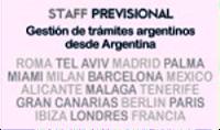 Staff Previsional en Barcelona por Jubilaciones,Pensiones y Reajustes de Argentinos Residentes en España