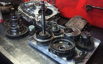 automatic transmission planetary gear, torque converter, and other parts