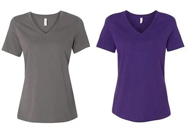 Bella + Canvas Women's V ‑ Neck T-shirt review