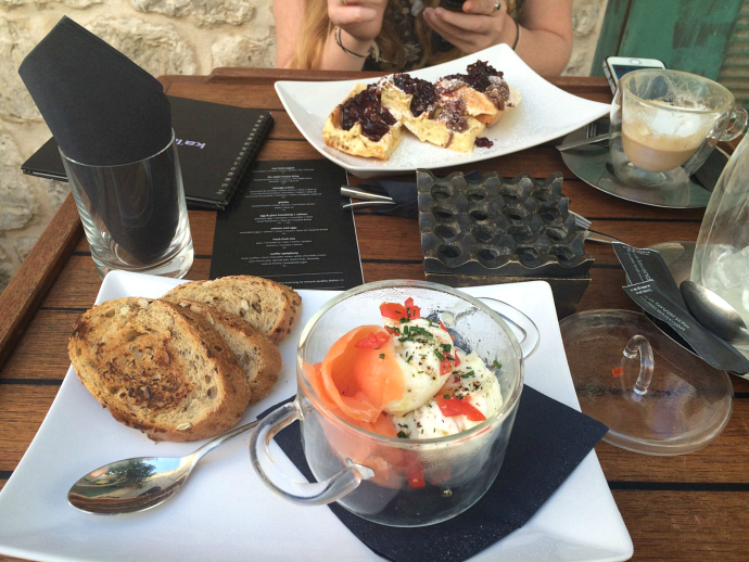 Brunch at Ka'lavanda restaurant Hvar