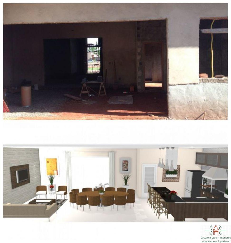 Construindo Minha Casa Clean Consultoria De Decora O 3d Varanda