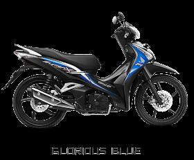Supra X 125 Helm In Biru