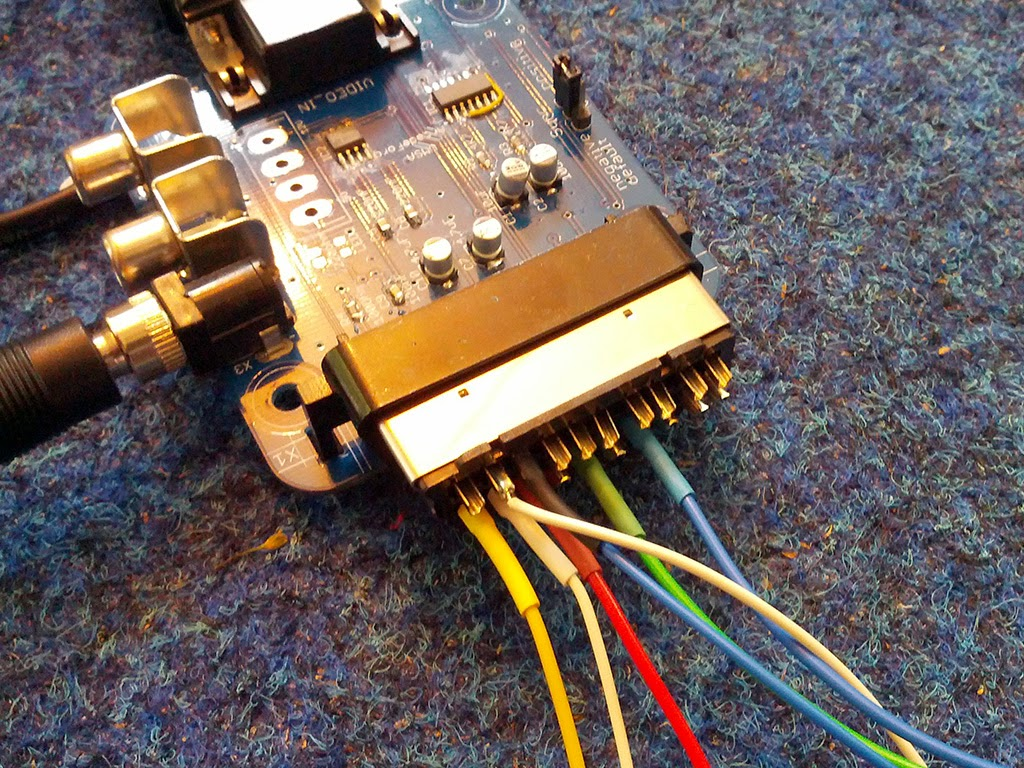 Scart Hunter Adding Rgb To A Non Television Vga Schematic Wiring Up And Sync Outputs Plus Control Voltage