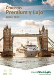 Catálogo de cruceros de lujo El Corte Inglés