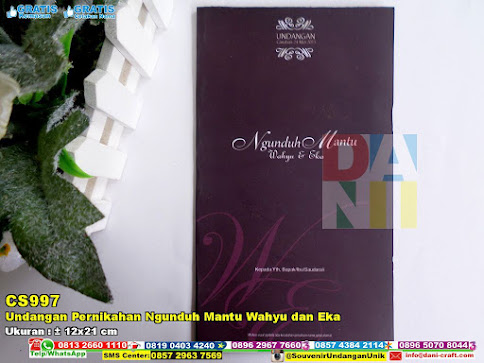 Undangan Pernikahan Ngunduh Mantu Wahyu Dan Eka