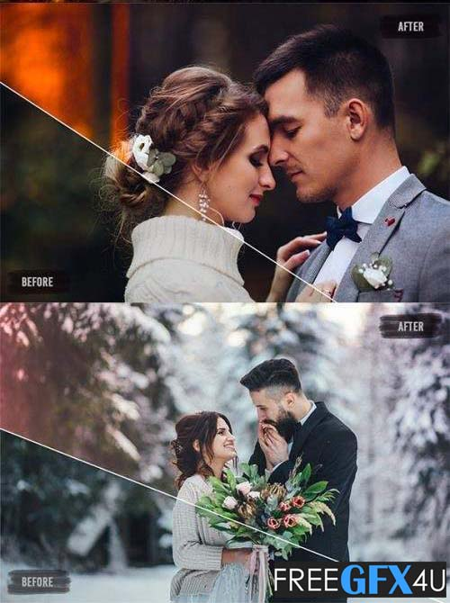 Light Leaks Wedding Presets Pack
