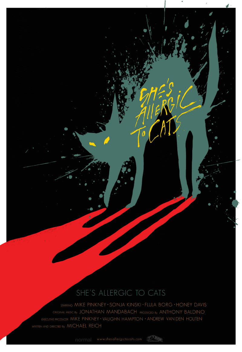 She's Allergic to Cats poster