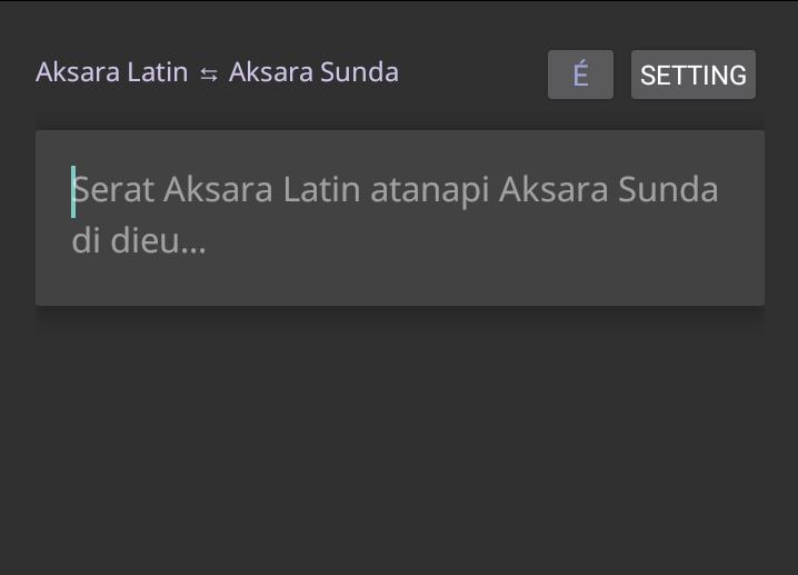 Gubernur bali sebelumnya telah menerbitkan pergub bali no. Translate Aksara Sunda ke Latin dan Sebaliknya dengan