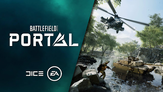 battlefield portal multiplayer mode first-person shooter game ea play live 2021 dice criterion games electronic arts pc ps4 playstation 5 xb1 xbox series x/s release date october 22 2021