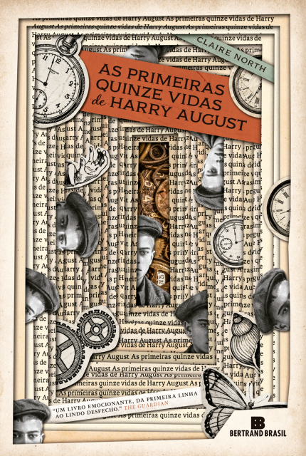 Capa do livro As Primeiras Quinze Vidas de Harry August