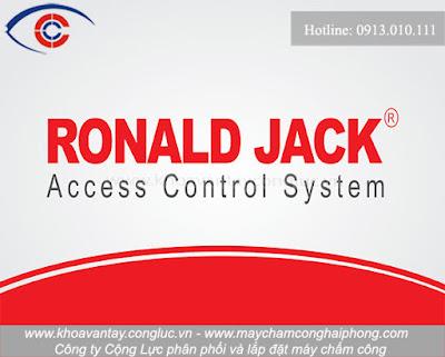 Ronald Jack nổi tiếng trên toàn thế giới về các sản phẩm an ninh, công nghệ kiểm soát quản lý công nhân viên cho doanh nghiệp.
