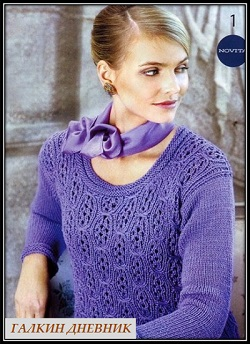 ajurnii-pulover-spicami | knitting-pullover | pulover-prutkamі | pulover-spicyami | kudumise-pullover | pletene-pulover