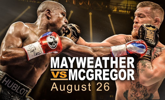 Mayweather mcgregor fight date