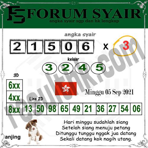Forum syair hk Minggu 05 September 2021