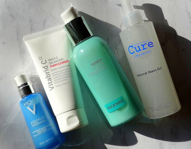 New Skincare Discoveries From Cure, Algenist, Vitabrid and Vichy!