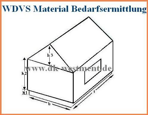 wdvs fassadend mmung w rmed mmung bedarfsermittlung an wdv material. Black Bedroom Furniture Sets. Home Design Ideas