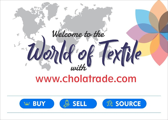 Chola Trade- Connecting buyers and sellers across textile industry.