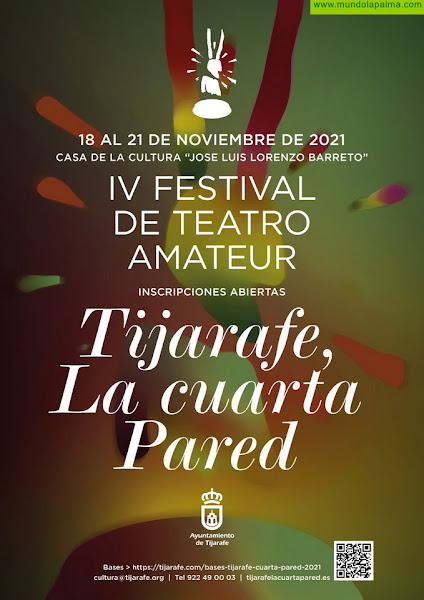 """En marcha la preparación de la cuarta edición del Festival de Teatro """"Tijarafe, La Cuarta Pared"""""""