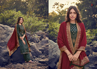 Deepsy Ahana Jam Cotton HandWork Designer Salwar Kameez Collection