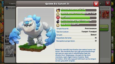 ice golem game clash of clans