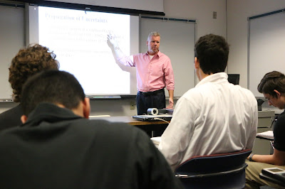 UIS offers first on campus dual credit class to high school students as part of a pilot program