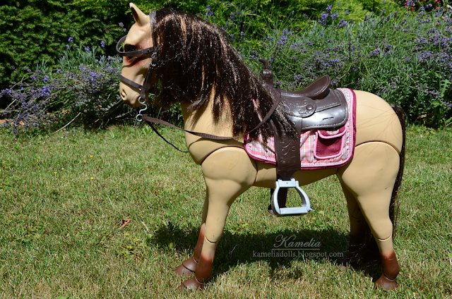 "18"" doll horse"