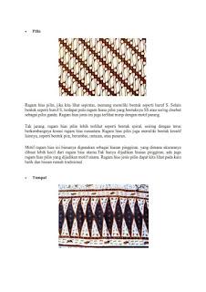 contoh tugas seni rupa gambar ragam hias