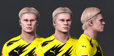 PES 2021 Faces Erling Haaland by Owen31