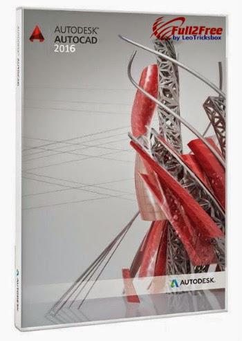 Autodesk AutoCAD 2016 full version