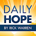 rick warren daily hope - Faithful People Share Their Faith