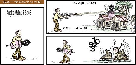 Prediksi Pak Tuntung Sdy Sabtu 03 April 2021