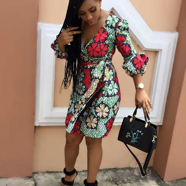 2018 Ankara Wrap Gown Styles for Beautiful Ladies This Month ...